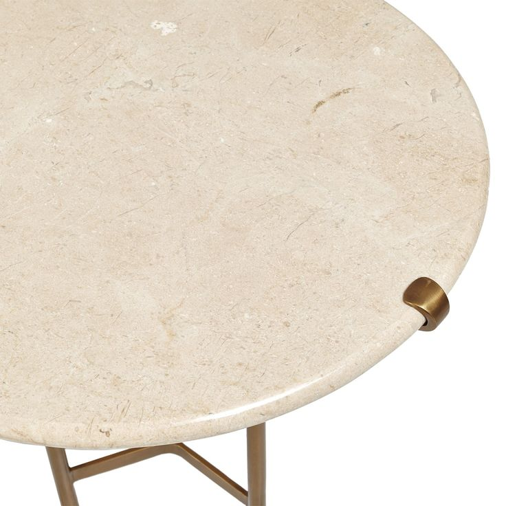 Keno Bros. Marble Side Table
