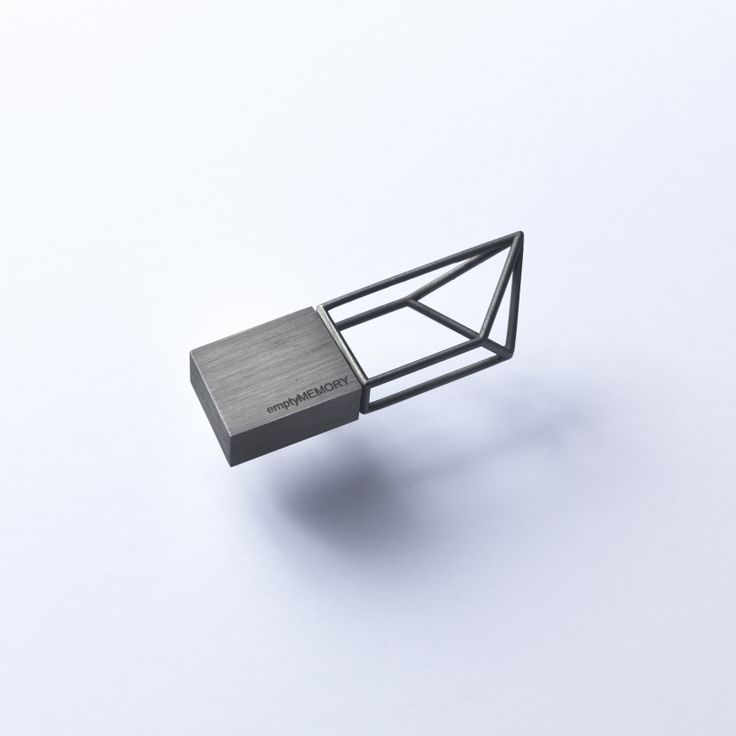 Empty Memory - Black Rhodium - Designed by Poetic Lab
