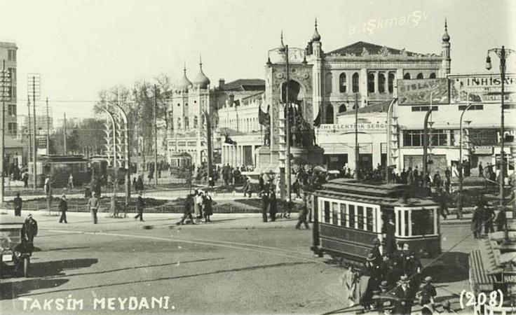 Taksim Square Istanbul Turkey