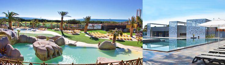 Vakantie aan het zwembad? Ontdek het zwemparadijs van het vakantiedorp Le Brasilia van Yelloh ! Village: verwarmd zwembad, glijbanen, bubbelbaden voor een rustgevende vakantie in ons eersteklas vakantiedorp.
