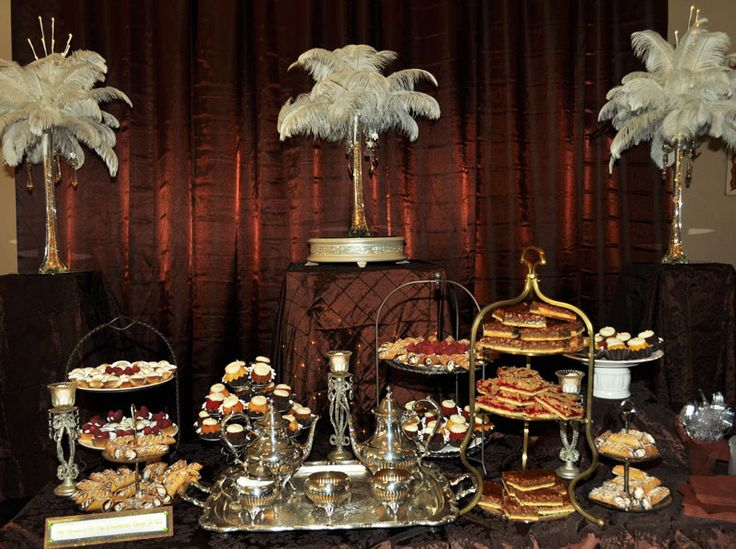 Decorations for great gatsby party - New themes for parties