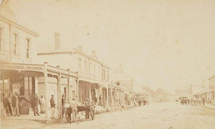 George St,Parramatta in 1871.