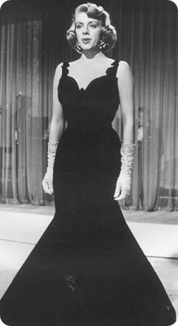 Rosemary Clooney - White Christmas  Absolutely LOVE this gown.  A gorgeous silhouette