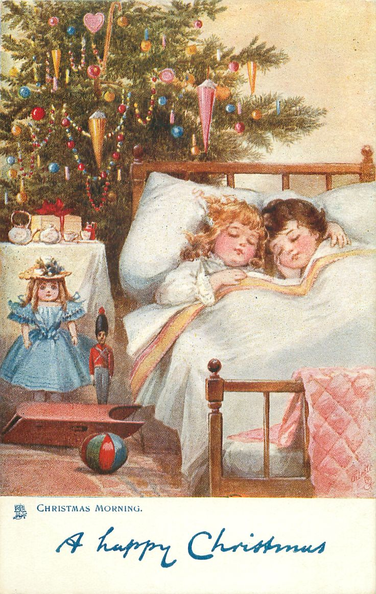 A Happy Christmas (mailed 1906 Christmas Morning