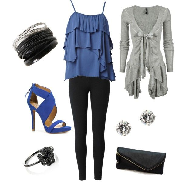 Blue Days, created by danielle-retterer on Polyvore