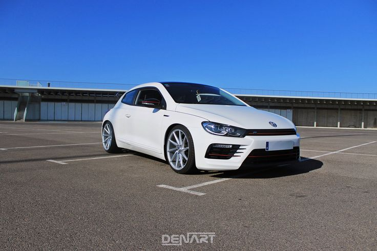 """VW Scirocco R with 19"""" Bola ZZR"""