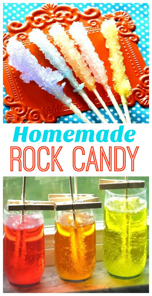 Homemade Rock Candy instructions, start to finish!