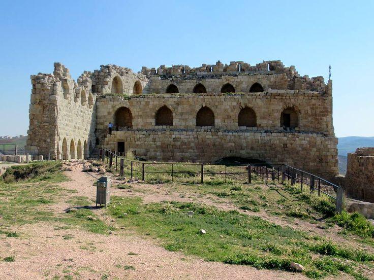 The Mameluke Keep is the southern bulwark of Al Karak Castle, Jordan, built by the Crusaders in the 12th century.