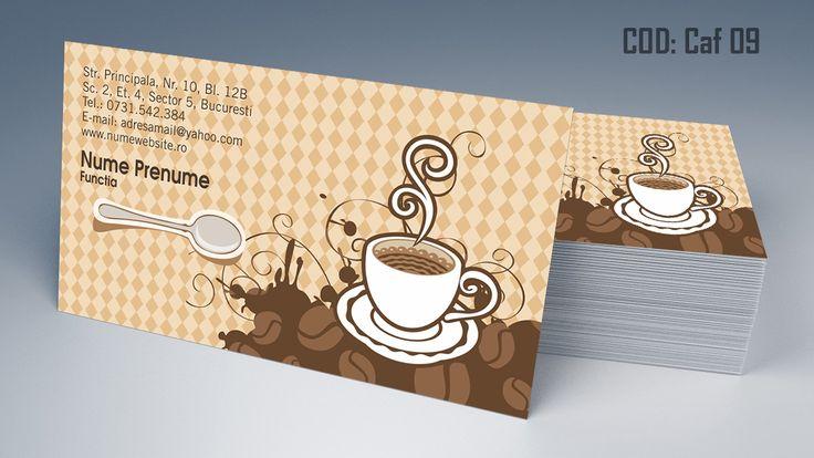 carti de vizita, cafea, cafenea