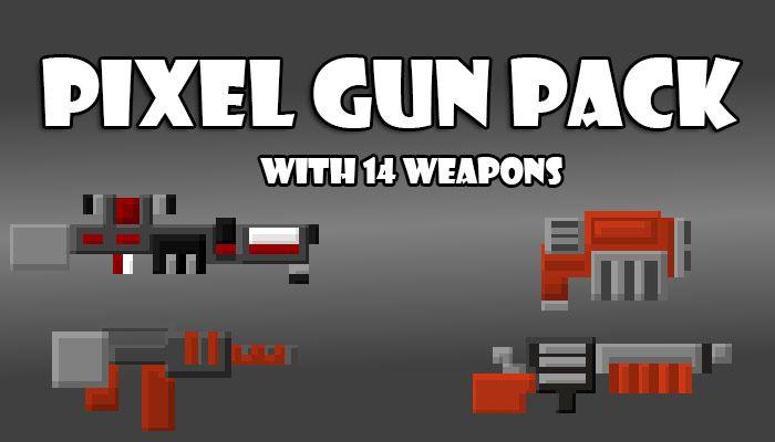 Pixel Gun pack