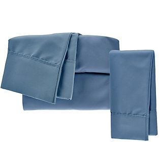 Serta Supersoft Microfiber Twin Sheet Set With Nanotex And Extra