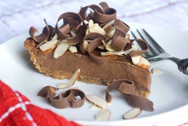 Gluten Free (guilt free!) Chocolate Banana Pie: Gluten Free Vegan, Gluten Free Chocolate, Bananas Pies, Pies Recipes, Dairy Free, Gluten Free Recipes, Free Chocolates, Chocolates Bananas, Paleo Desserts