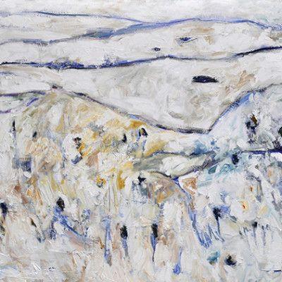 Spalding Guthega, Oil on Linen 1060x2020mm $7000 Stanley Street Gallery