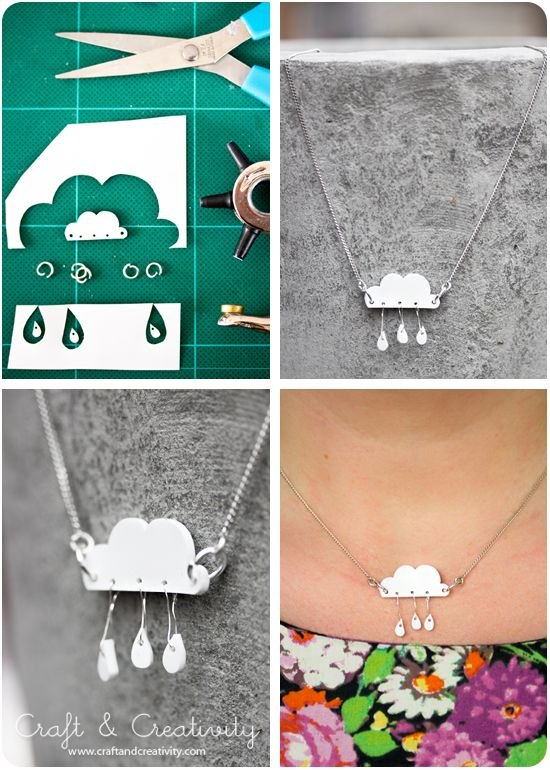 Shrink plastic jewelry - by Craft & Creativity