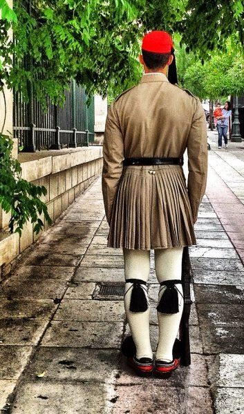 Tsolias (Presidential Guard) in Athens