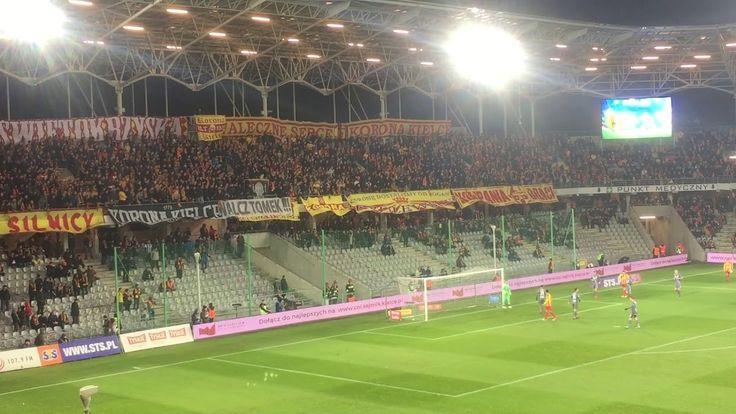 E: Korona Kielce - Legia Warszawa. [Korona fans] 2017-11-25