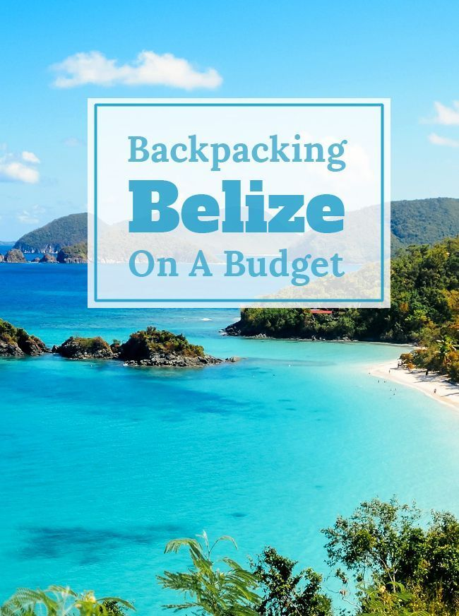 The Ultimate Travel Guide to Backpacking Belize on a Budget. Find out where to stay, what to do and so much more.