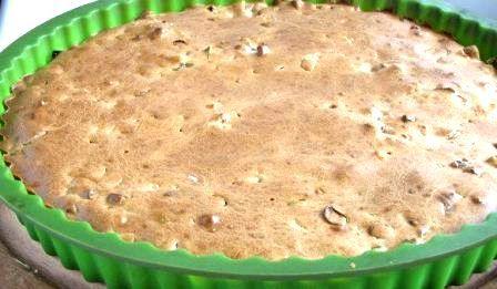 Пирог с луком и яйцом в духовке   Любимые блюда