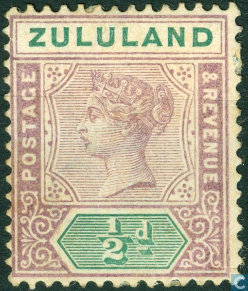 Postage Stamps - Zululand - Queen Victoria