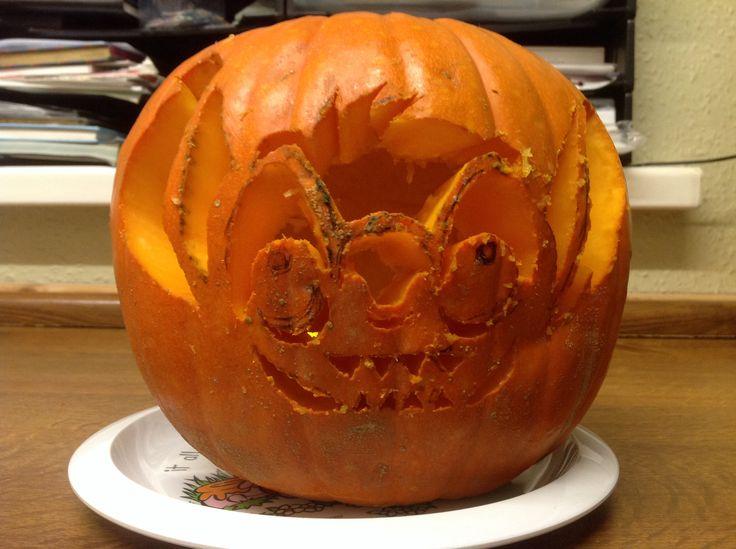 Stitch Pumpkin Halloween 2014 pre lit