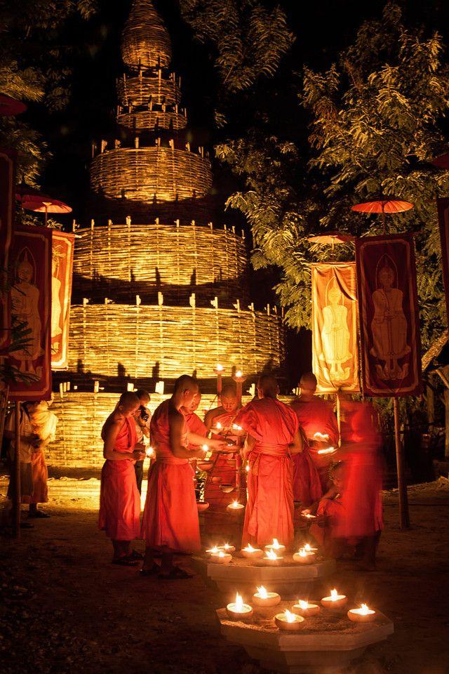Visakha Bucha in Chiang Mai ~ Thailand