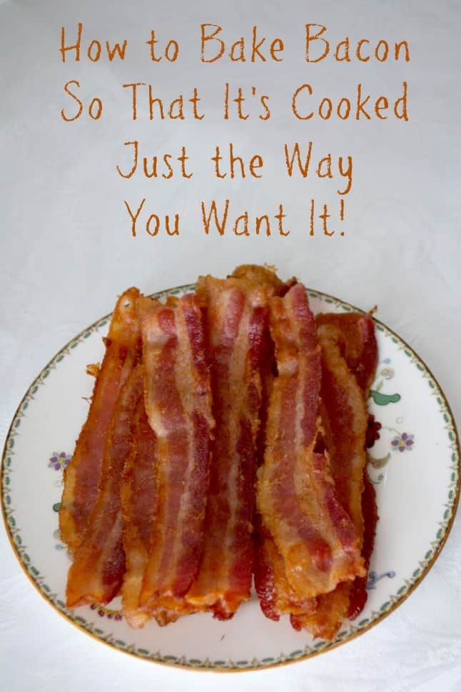 Cook bacon in the oven recipe oven bacon and cooking bacon baking bacon how to bake bacon in the oven ccuart Choice Image