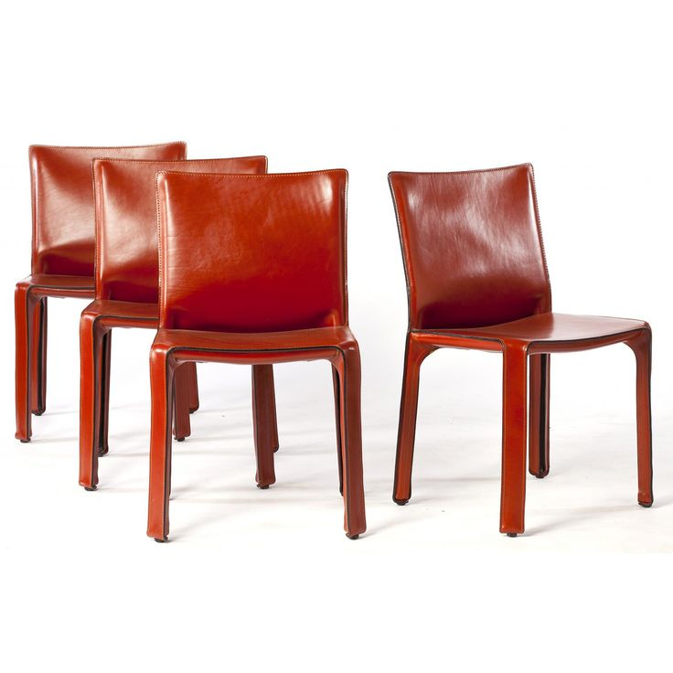 Mario Bellini, CAB 412/413 Universal Side Chairs Sold $3,600