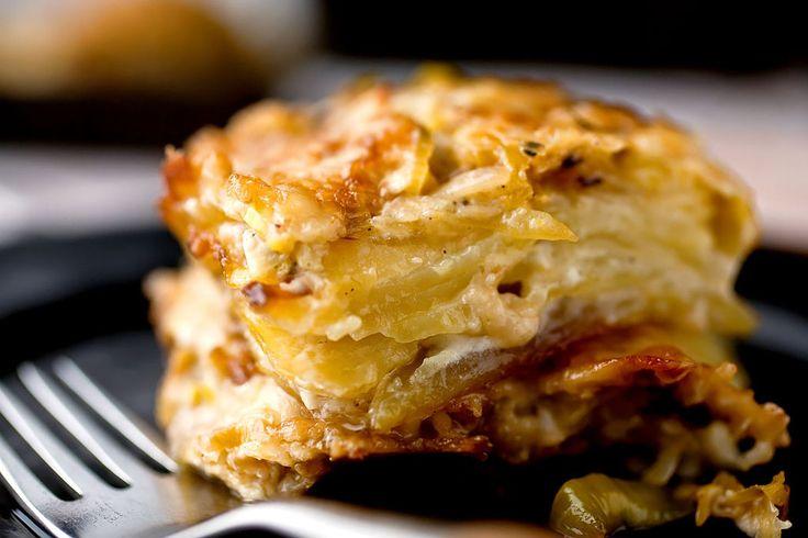 gratin dish leek gratin potato gratin recipe potatoe recipes leeks ...
