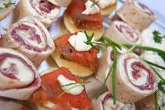Canapés from The Mediterranean Market, Queenstown, NZ www.mediterranean.co.nz