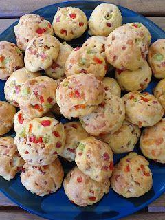 Ψωμάκια με γεύση πίστας