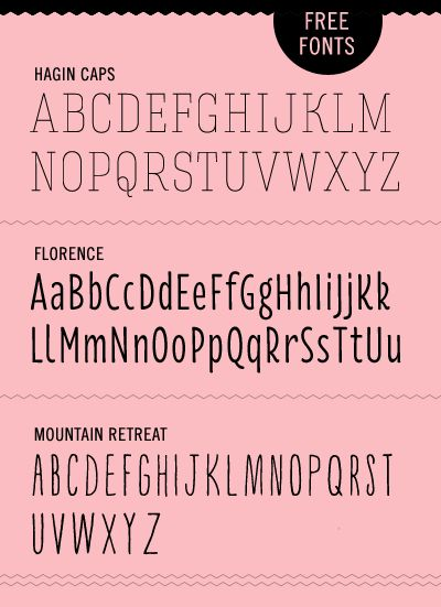 Free thin fonts | How About Orange