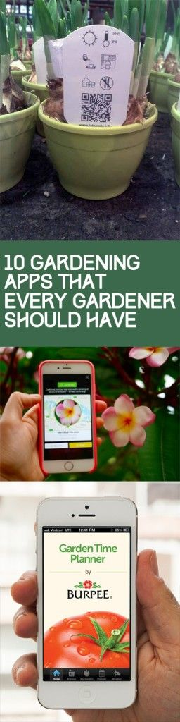 Gardening, gardening hacks, popular pin, outdoor living, phone apps, gardening hacks, gardening tips and tricks.