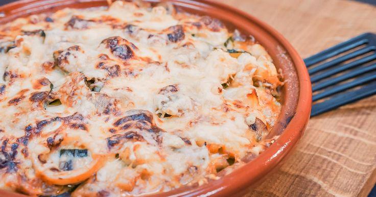 Lasagne met zeevruchten