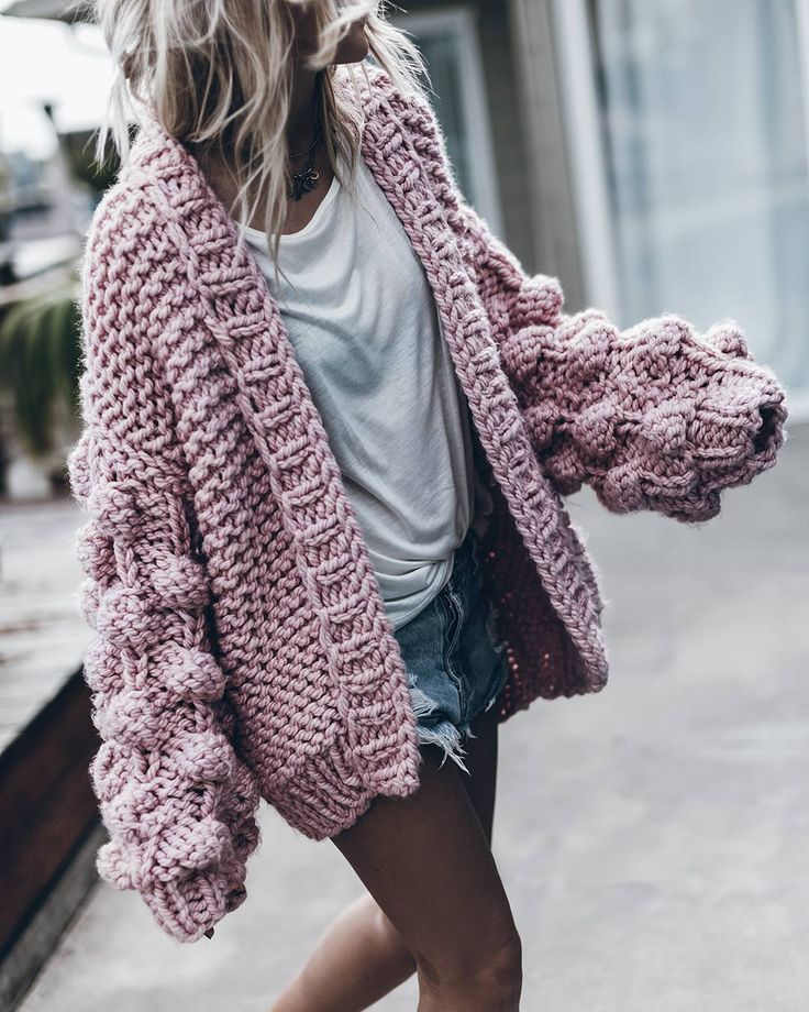 Knitting Patterns For Chunky Wool Sweaters : 25+ best ideas about Chunky knit cardigan on Pinterest Cardigans, Winter ca...