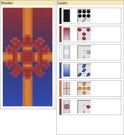 Minecraft Banner Generator:    http://algoin.de/bngn/