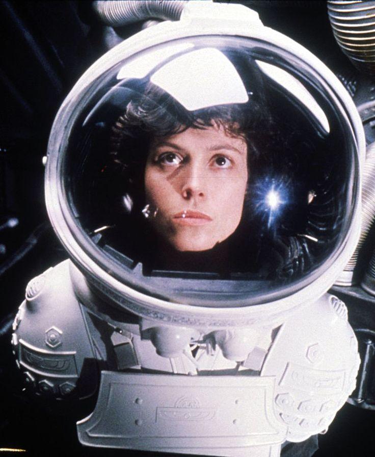 Sigourney Weaver as Ripley in Alien      Sigourney Weaver in Alien    BAMF
