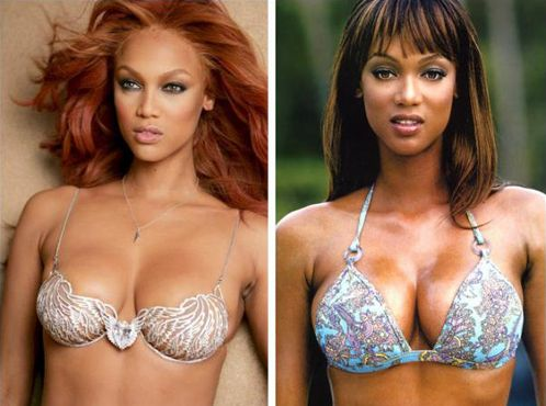 I bet you didn't know Tyra Banks had a nose job huh? A major Tyra Banks nose job took place around 2007. Tyra Banks had several plastic surgery procedures done after that. SEE PICTURES of Tyra Banks nose job and plastic surgery jobs by clicking LINK BELOW! You will also see Tyra Banks net worth and Tyra Banks boyfriend and bra size!  #tyrabanks #tyrabanksnosejob #tyrabanksplasticsurgery #tyrabanksboyfriend #tyrabanksnetworth