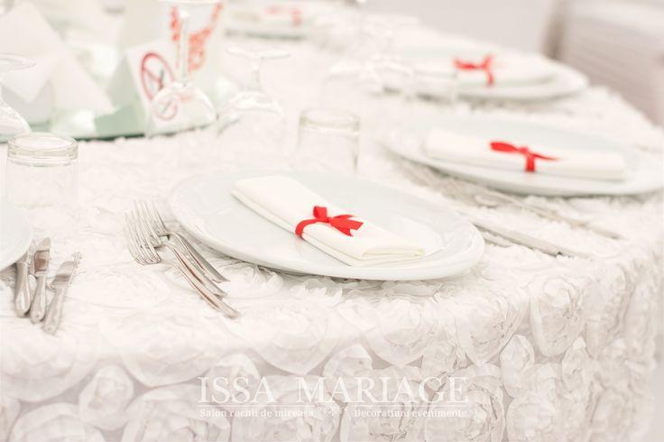 Decor masa invitati nunta