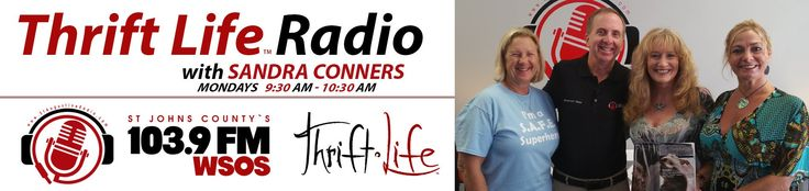 Fab Finds Thrift•Life™ Radio with Sandra Conners 103 9 FM WSOS S1 E6 08 ...