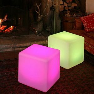 Colour Changing Outdoor Light Cube - lights & lanterns £209