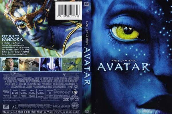 Avatar movie dvd