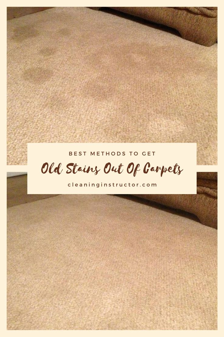 How To Remove Old Set-In Carpet Stains Ehow
