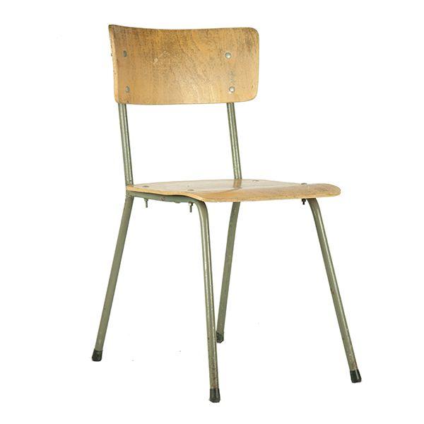 Industriële stoel - Happy Vintage