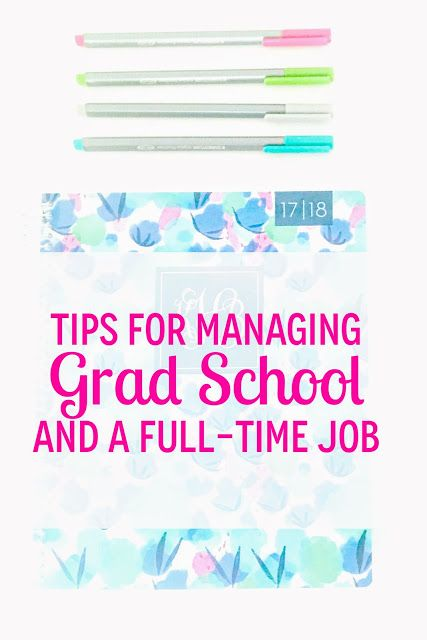 Organized Charm: Tips for Balancing Grad School and Real Life