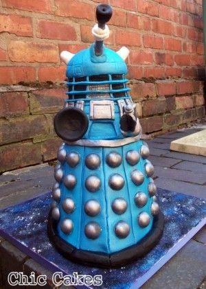The Dalek Cake