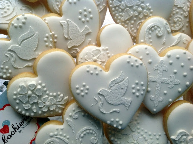 Baptism Cookies by Cookieria By Margaret, Bolacha Decorada, Biscoito Decorado