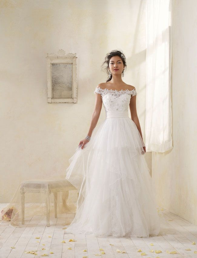 235 best Wedding Dresses images on Pinterest | Wedding dressses ...