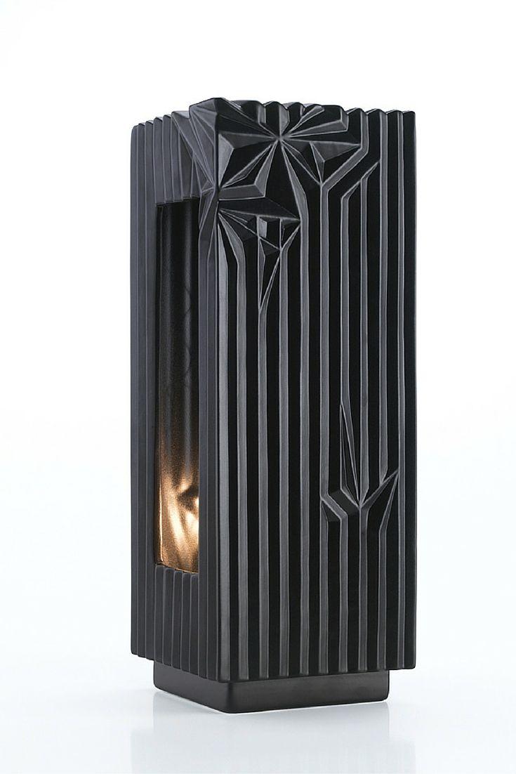 Spectrum Collection - Lamp, Black Matte | www.homelivingceramics.com