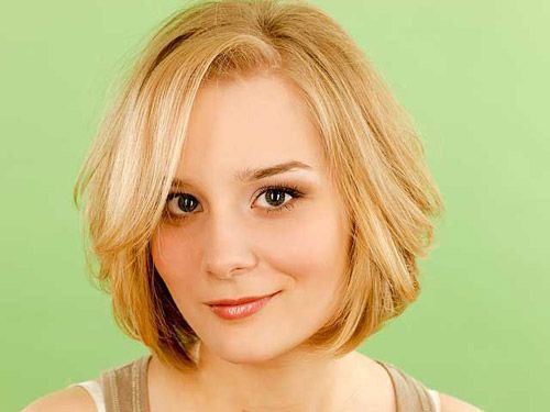 Haircuts+For+Round+Faces   The 25 Best Cute Short Haircuts of 2012   2013 Short Haircut for Women