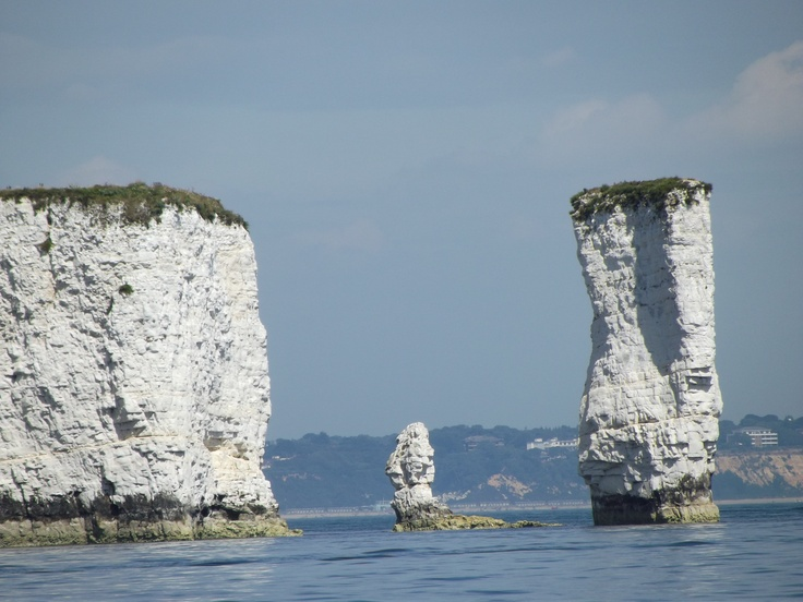 A 'classic' photo of Old Harry at Swanage